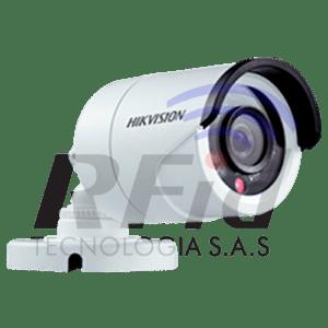 CÁMARA TIPO BALA PLÁSTICA 1080p 2.8mm - DS-2CE16D0T-IRPF