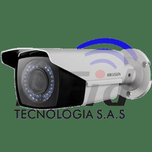 CÁMARA TIPO BALA 1080p Varifocal 2.8 - DS-2CE16D0T-VFIR3F