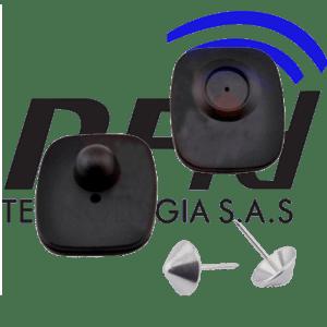 ETIQUETAS DE SEGURIDAD DURAS RF T-001